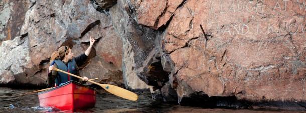 Canoeing at Bon Echo